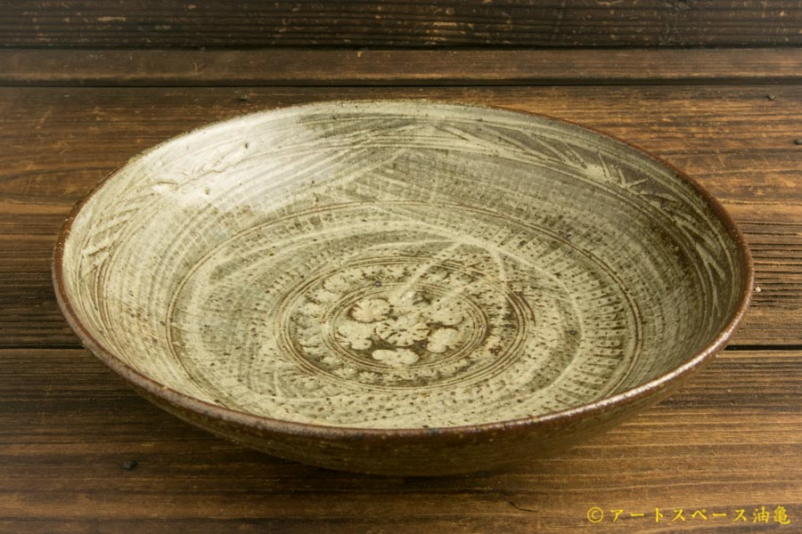 画像2: 水垣千悦「三島 7寸皿」