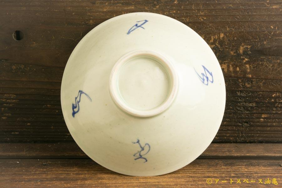 画像3: 水垣千悦「染付 6寸皿」