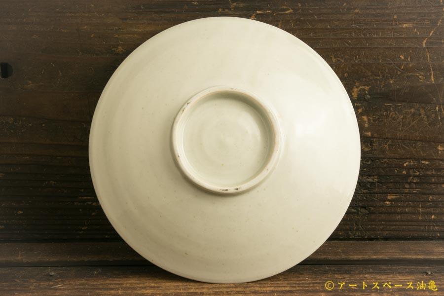 画像3: 水垣千悦「6寸皿 白磁」