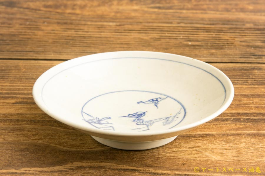 画像2: 水垣千悦「染付 霊獣 3.5寸皿」