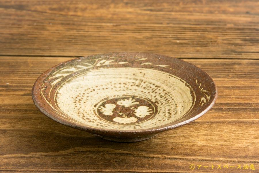 画像2: 水垣千悦「三島暦手 3.5寸皿」
