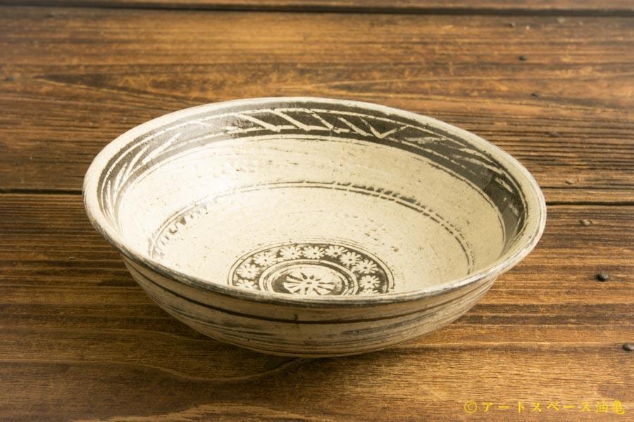 画像2: 水垣千悦「三島 5寸鉢」