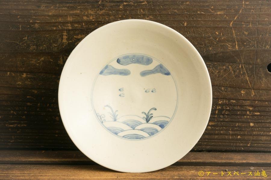 画像1: 水垣千悦「染付 千鳥 5寸皿」