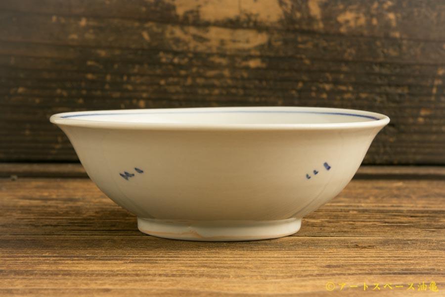 画像4: 水垣千悦「染付 鶴 5寸皿」