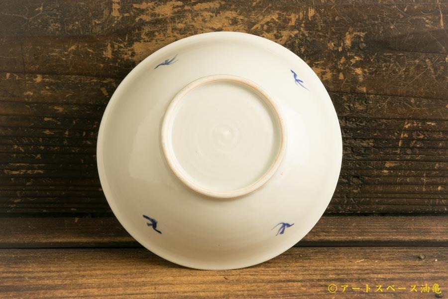 画像5: 水垣千悦「染付 柳 5寸皿」