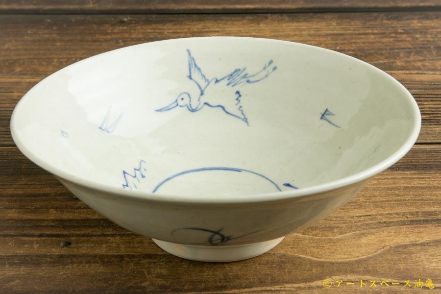画像2: 水垣千悦「染付 6寸鉢」