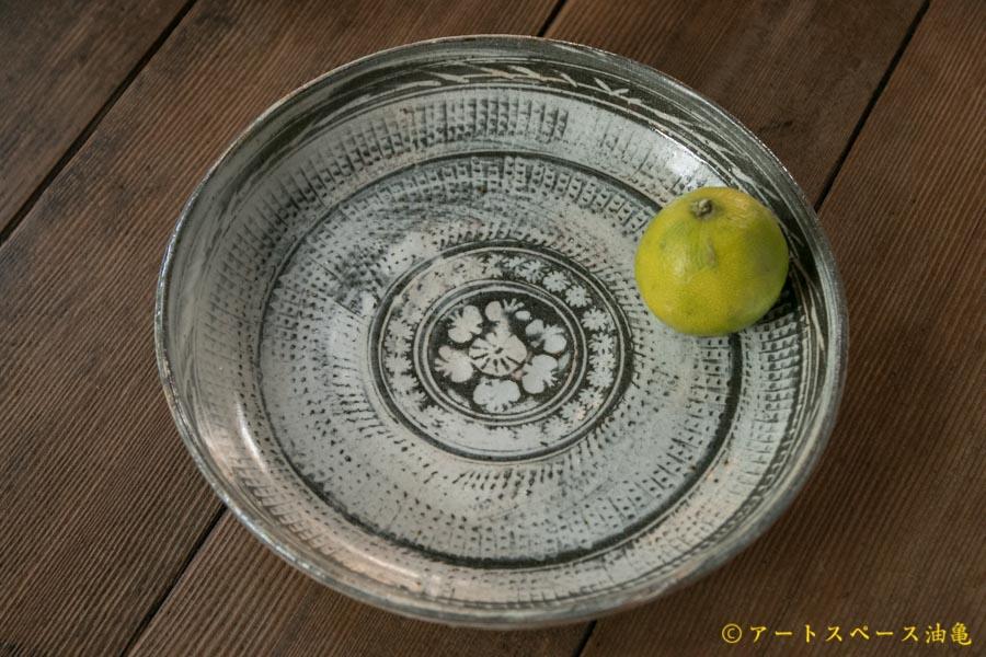 画像1: 水垣千悦 7寸 三島皿