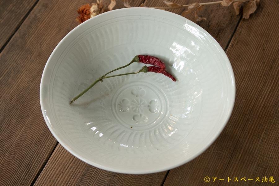 画像1: 水垣千悦 印花6寸鉢