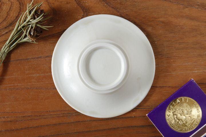 画像3: 小倉夏樹「白磁 鎬3寸リム皿」