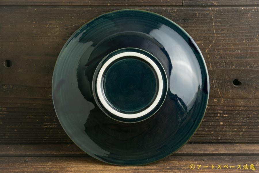画像4: 小倉夏樹「瑠璃 鎬リム皿7寸」
