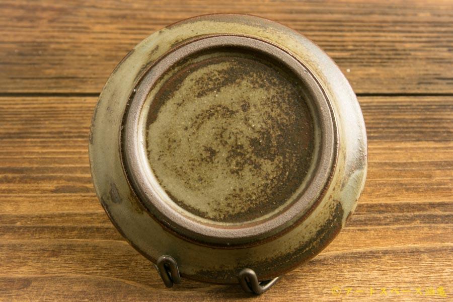 画像3: 小倉夏樹「長石釉 鎬リム平豆皿」
