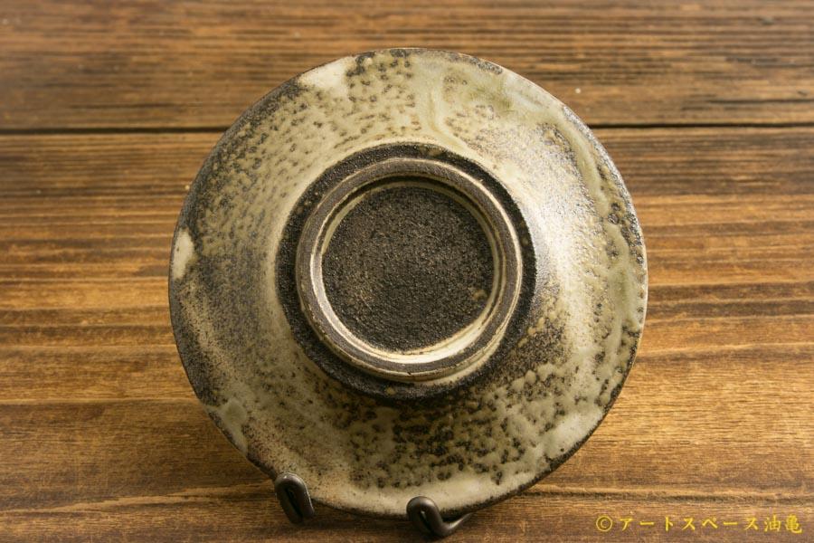 画像4: 小倉夏樹「灰粉引 鎬リム豆皿」