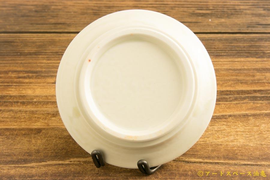 画像4: 小倉夏樹「白磁 鎬リム平豆皿」