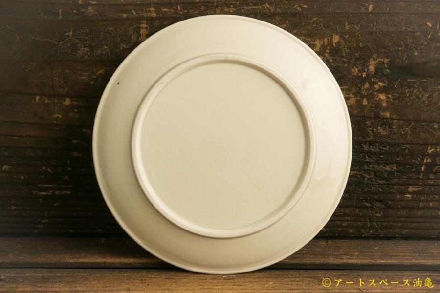 画像4: 小倉夏樹「白磁 鎬平皿5寸」