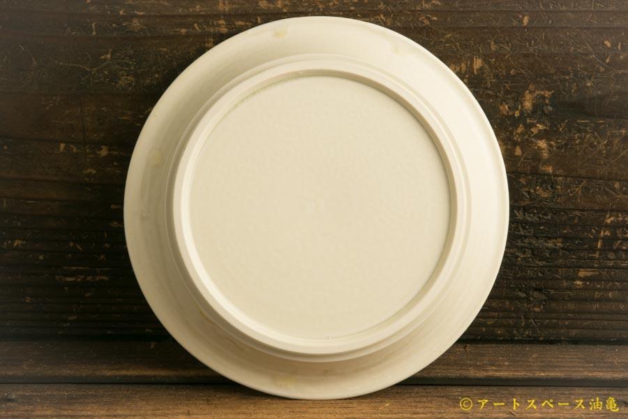 画像4: 小倉夏樹「白磁 鎬リム平皿5.5寸」