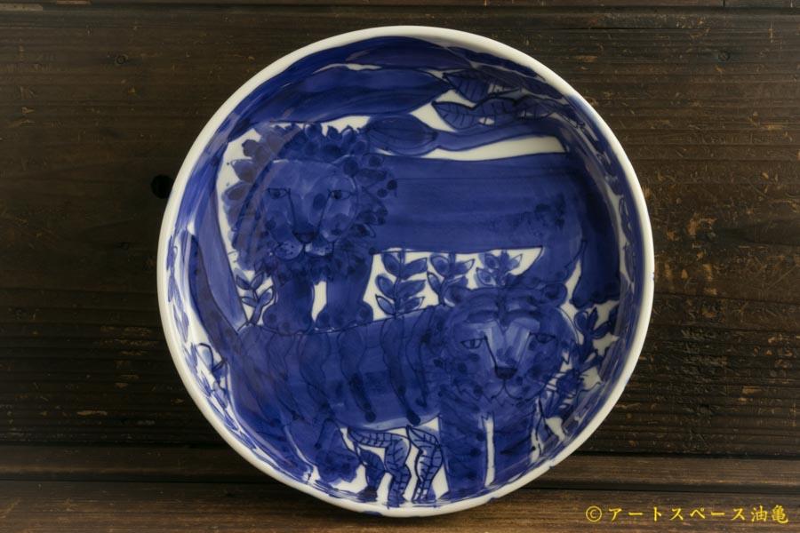 画像1: 大隈美佳「青絵ドラ鉢」