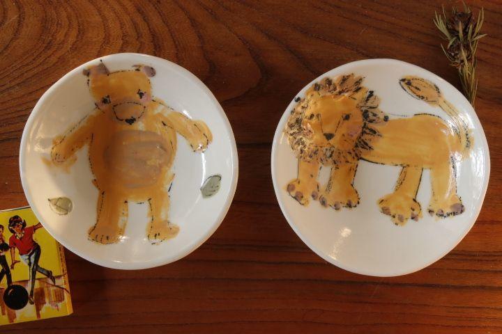 画像1: 大隈美佳「動物小皿」