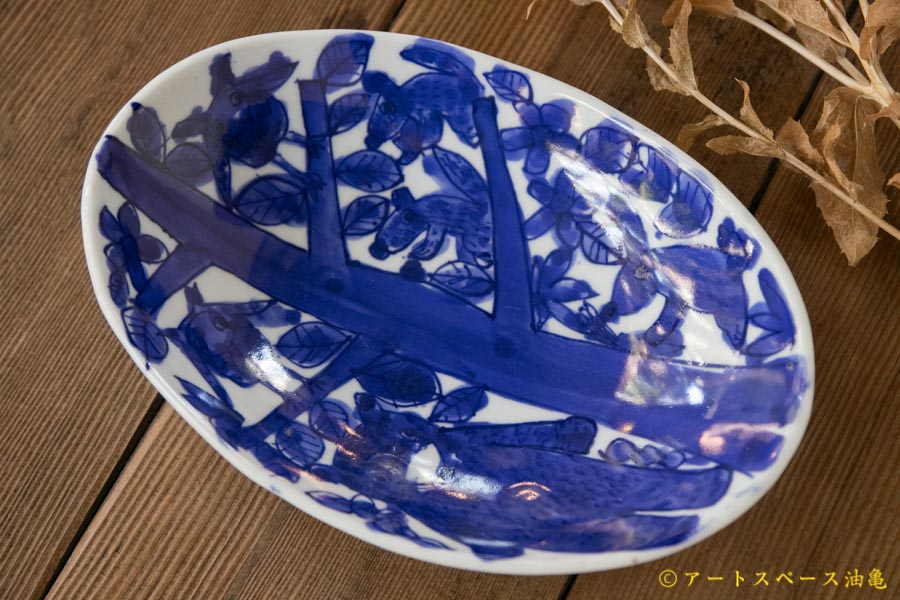 画像3: 大隈美佳 青絵ダ円bowl