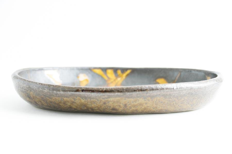 画像3: 井上尚之「スリップ楕円鉢 大(耐熱陶器)」