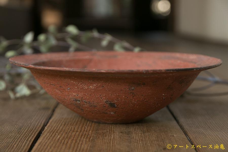 画像1: 大澤哲哉 Rim bowl M 赤【アソート作品】