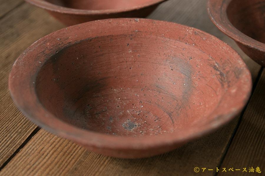 画像1: 大澤哲哉 Rim bowl S 赤【アソート作品】