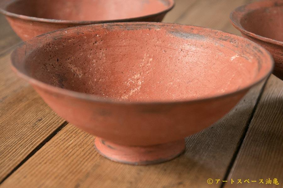画像1: 大澤哲哉 Rice bowl 赤【アソート作品】