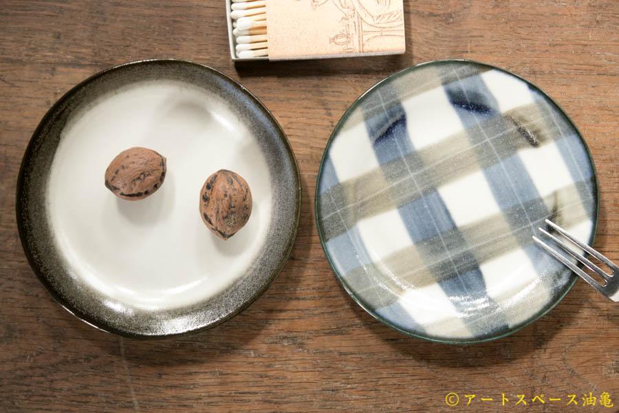 画像1: 木ユウコ 【新作:ツヤあり】リム小皿