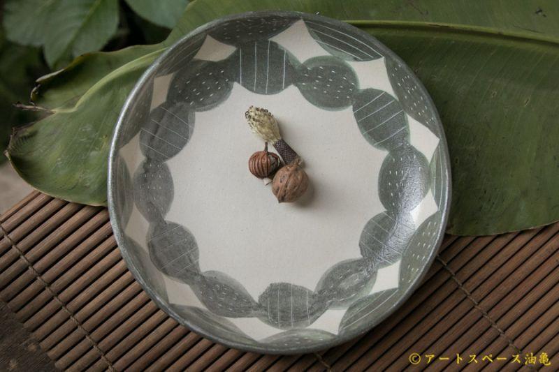 画像4: シマシマポタリ 深皿(中)