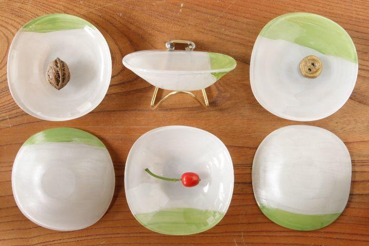 画像2: 白神 典大「エナメル豆皿」<アソート作品>