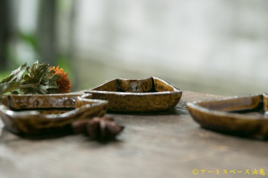 画像4: 須賀文子 ネコ豆皿【アソート作品】