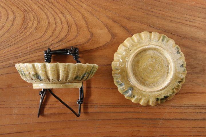 画像2: 須賀文子「輪花豆皿」