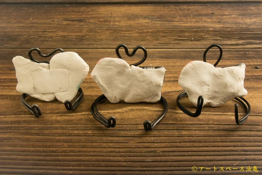 画像2: 田川亞希 「インドご夫婦 スプーンレスト」