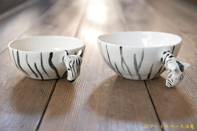 画像1: 田川亞希 シマウマスープカップ