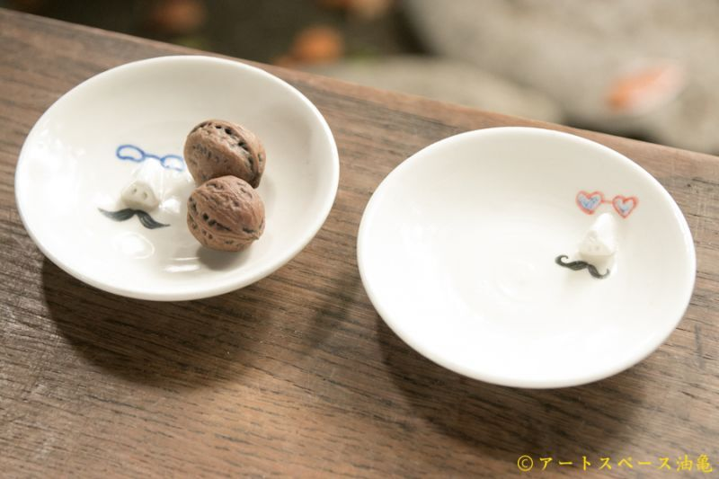 画像1: 田川亞希 パーティー鼻眼鏡皿