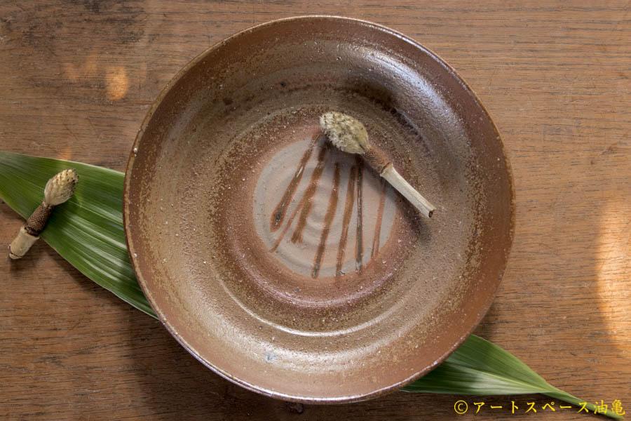 画像1: 高力芳照 備前 皿