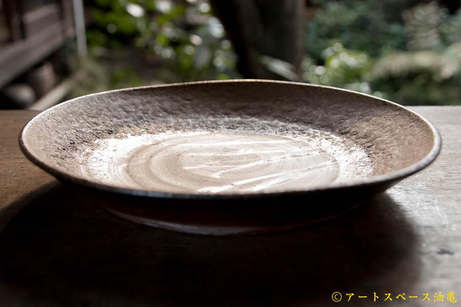 画像3: 高力芳照 備前 カレー皿