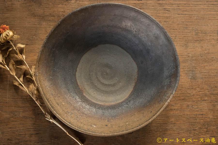 画像4: 高力芳照 備前 窯変カレー鉢