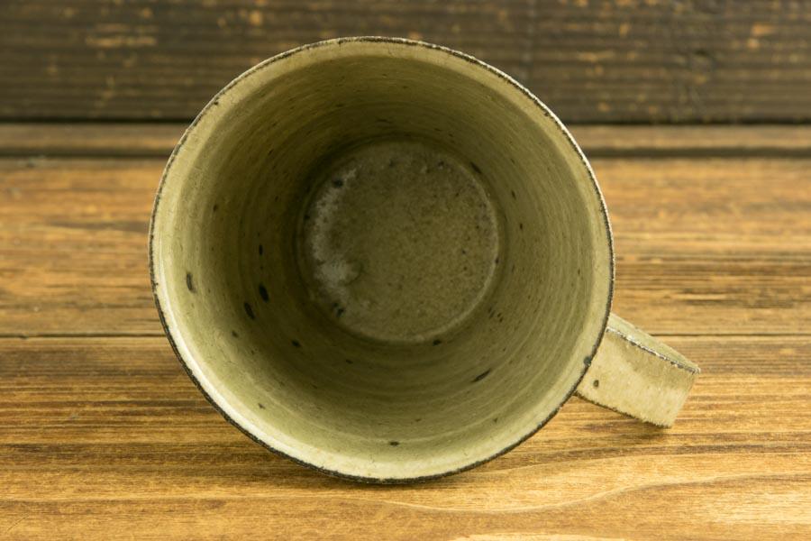 画像4: 高島 悠吏「灰釉粉引 マグカップM」