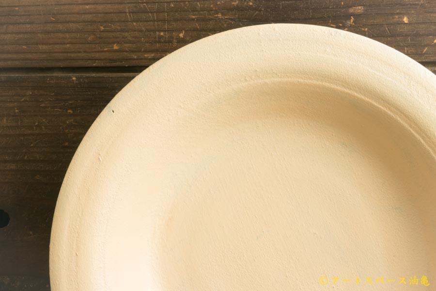 画像2: たま木工商店「白うるしリム皿」