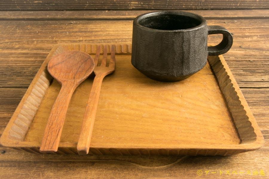画像1: たま木工商店「フォーク (イスノキ)」