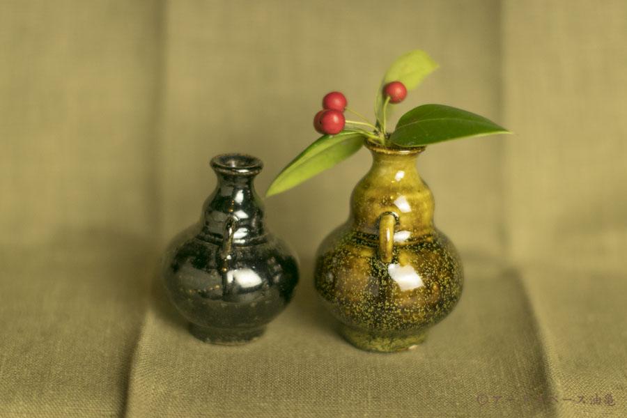 画像2: 田村文宏「黒褐釉/鉄釉小壺 一品作」