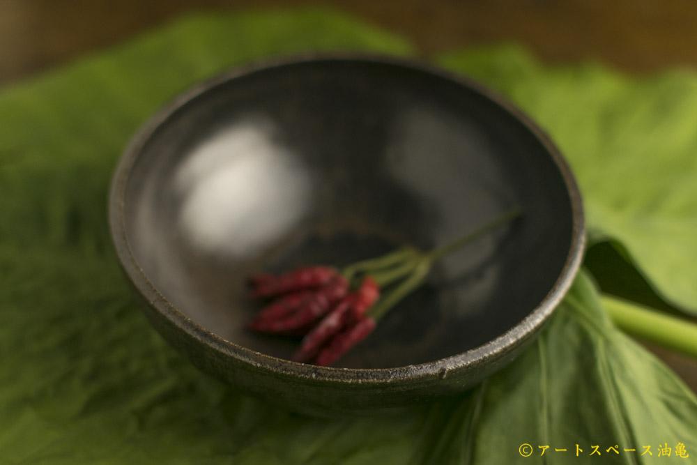 画像3: 田村文宏「黒褐釉鉢」