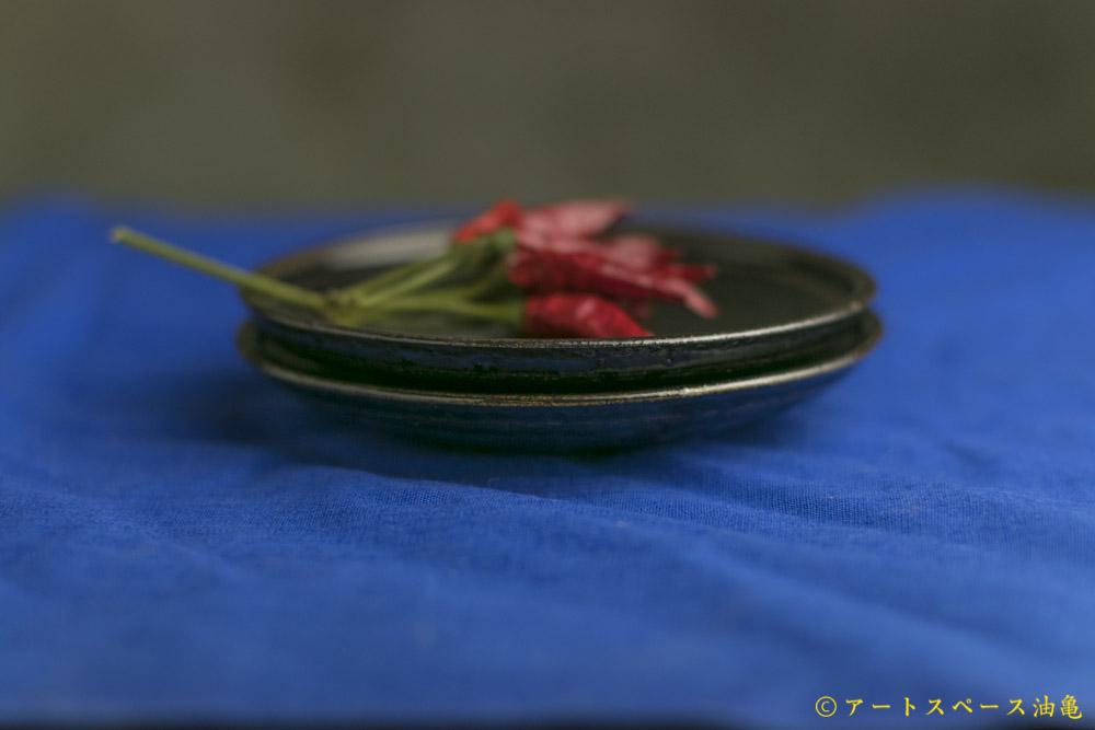 画像4: 田村文宏「黒褐釉皿4寸」