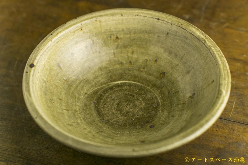 画像1: 田村文宏「灰釉粉引大鉢」