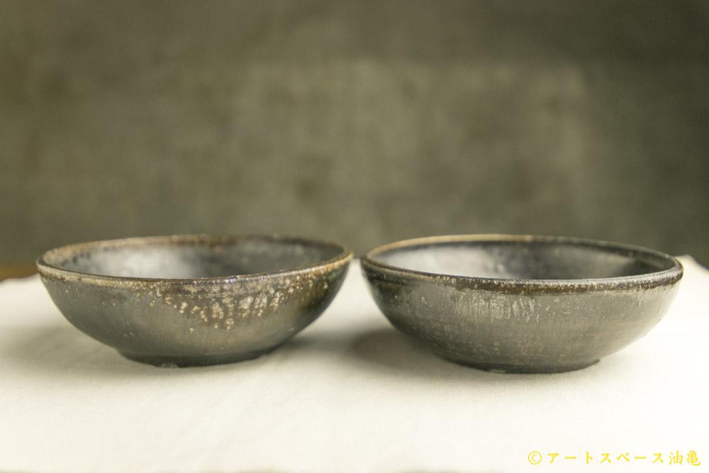 画像2: 田村文宏「黒褐釉鉢」