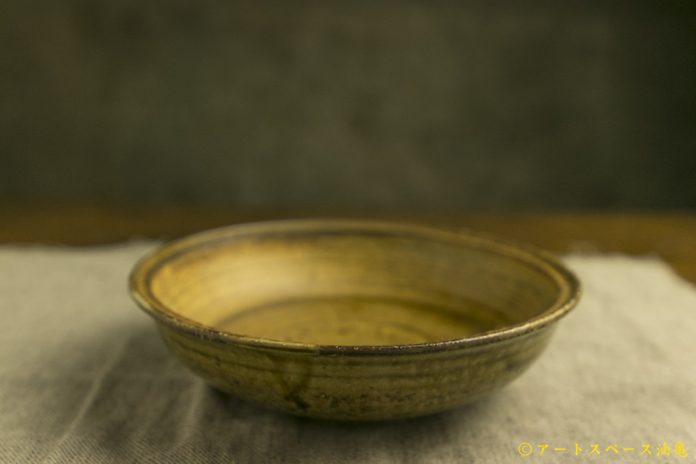画像5: 田村文宏「灰釉刷毛目鉢」