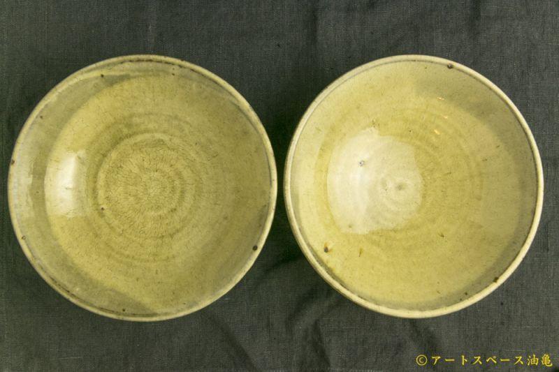 画像1: 田村文宏「灰釉粉引鉢」