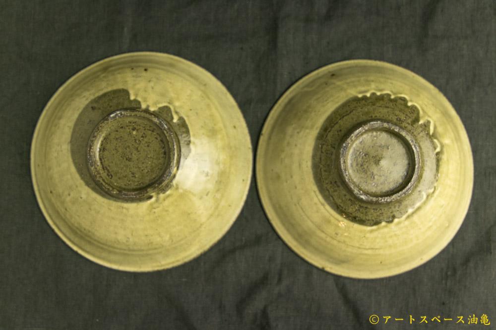 画像4: 田村文宏「灰釉粉引鉢」