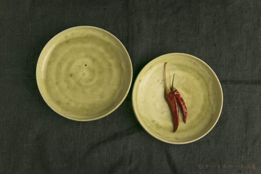 画像1: 田村文宏「灰釉皿」