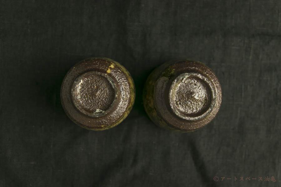 画像4: 田村文宏「灰釉粉引筒のみ」